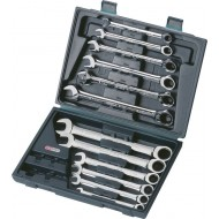 KS GEARplus Ratcheting Combi Spanner Set (Qty 1 Set) - K503.4265