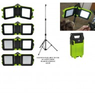 Rechargeable Floodlight 20W SMD Folding Case - LED190T