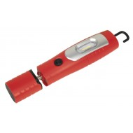 Rechargeable 360  Inspection Lamp 7 SMD + 3W LED Red Lithium-ion - LED3602R