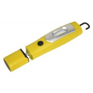 Rechargeable 360  Inspection Lamp 7 SMD + 3W LED Yellow Lithium-ion - LED3602Y