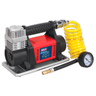 Tyre Inflator/Mini Air Compressor 12V Heavy-Duty