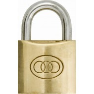 Padlocks Brass Standard Shackle 30mm (Qty 1) - PAD30