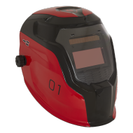 Welding Helmet Auto Darkening Shade 9-13 - PWH1 RED