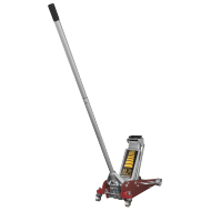 Sealey Trolley Jack 2.5tonne Aluminium/Steel Rocket Lift - RJAS2500