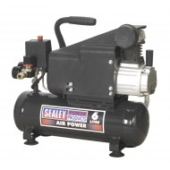 Sealey 6 Litre Compressor 1Hp - SAC0610E