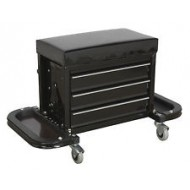 Mechanic's Utility Seat & Tool Box - SCR18