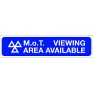 MoT Viewing Area Available (Small) - SMS0060