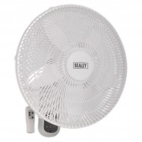 Wall Fan 3-Speed 18' with Remote Control 230V - SWF18WR