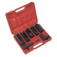"Sealey Oxygen Sensor Socket Set 7pc 3/8"" & 1/2""Sq Drive - SX032"