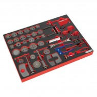 Tool Tray with Brake Service Tool Set 42pc - TBTP10