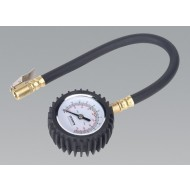 Tyre Pressure Gauge with Clip-On Chuck - TST/PG6
