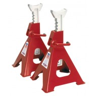 Sealey Axle Stands 6tonne Capacity per Stand 12tonne per Pair Ratchet Type - VS2006
