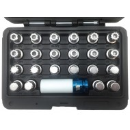 Wheel Nut Lock Set - VAG 23pc  - WW4006