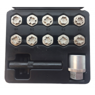 12-Piece Locking Wheek Nut Sockets For Mercedes Benz OEM - WW4186