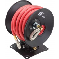 Welzh 3/8'' x 50' Rubber Air Hose & Reel
