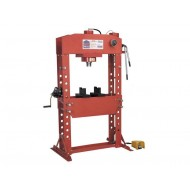 Air/Hydraulic Press 75tonne Floor Type with Foot Pedal - YK759FAH